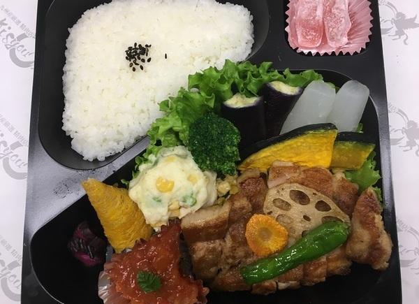懐石ポークソテー弁当 1680円