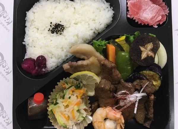 懐石焼肉弁当 1600円