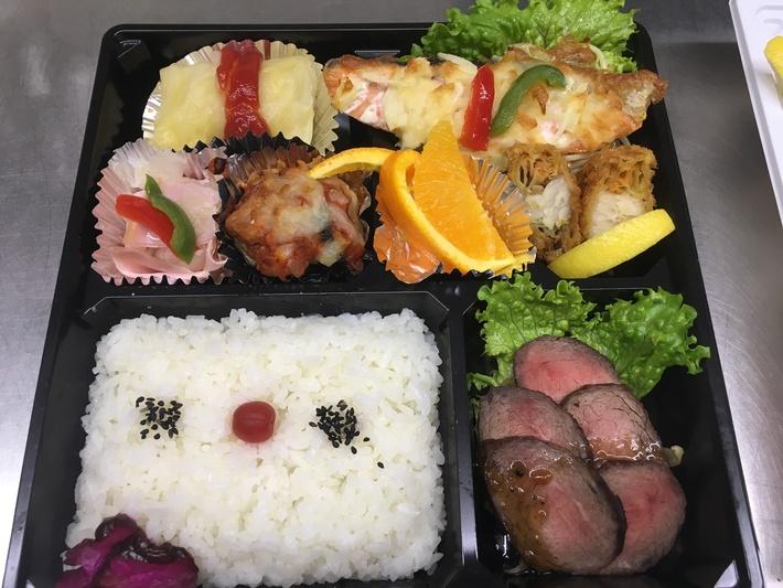 懐石洋食弁当 1860円のサムネイル