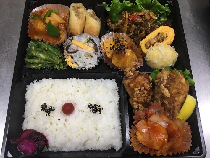 懐石中華弁当 1600円のサムネイル