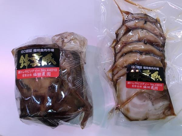 肉専門店の手作り焼き豚
