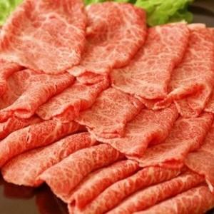 宮崎県産 黒毛和牛大トロモモ すき焼き用